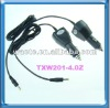 portable dvd car charger 9v 1.5a 2a TXW201