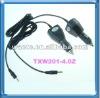 portable dvd car charger 9v 1.5a 2a TXW201