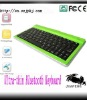 Ultrathin slim tablet pc Bluetooth Wireless KeyBoard for Ipad/Iphone OS