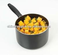 Black Non-stick Aluminum Saucepan w/o Lid