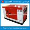 Silent type water-cooling diesel genset