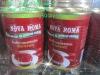 tin drum tomato sauce packaging