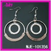 latest fashion white stone earrings