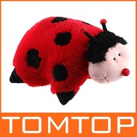 Cuddlee Pet Pillow LadyBug Ladybird Plush Stuffed Animal Doll Toy