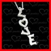 hot sale silver letter pendant perfect gift wholesale