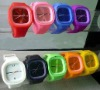 Fashionable Unisex Water Resistant Silicone Jelly Watch