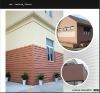 environment friendly wood plastic composite(WPC) wall panels or wpc siding