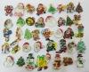 LED Christmas Eve Flashing Badges