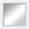 Plastic White Mirror Frame