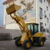 HT618 wheel loader with 1.8T 0.7m3 bucket capacity total weight 3950kg