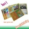 Laser game card