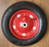 3.25 3.00-8 Pneumatic Rubber Wheel