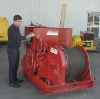 Heavy duty electric winch for construction