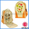 Print Picnic backpack for 2 persons