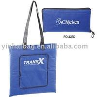 non woven zipper folding bag