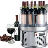 8 bottles countertop wine cooler display