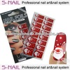 Holiday nail sticker,Christmas nail designs,customer nail art stickers