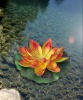 Multicolor LED Solar Lotus flower lamp