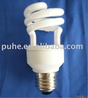 Half-spiral energy-saving bulb