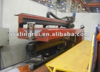 barrel longitudinal seam welding workstation