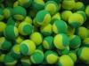 ITF Approvel Soft Tennis Balls For Kid Stage 1 /Beach Tennis Ball Yellow &Green Color