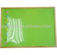 Wood frame EVA message board