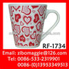 Stoneware Soup Mug for Valentine's Gift Mug for Daily Use