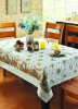 pvc lace tablecloth (New arrival)