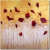 2012 High Quality Beautiful Handpainted Oil Painting Pictures Of Flowers