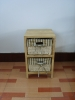 mini wooden cabinet with chest