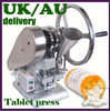TDP-1.5 Single punch table top tablet press machine that make pills with 1 set free round die set 1205006H