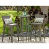 poly rattan patio furniture--AWRF5662-outdoor 2012-Bar set