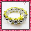 Newest Big silver buddha beads bracelet, fashion hot sale bracelet