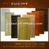 Wood Grain Door Panel for kitchen cabinet