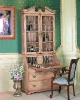 old design antique wooden display cabinets for bookcase