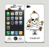 for iphone 5 front and back cartoon LCD screen skin protector