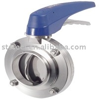 Welded Butterfly Valve (with Plastic Multiposition Handle)