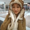 faux fur animal hood hat