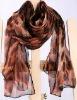 2013 leopard print silk scarf
