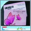 Offset Print Standard Size Barcode PVC Card