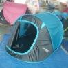 D-type door design easy to fold pop up camping waterproof tent