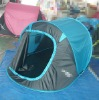 D-type door design easy to fold pop up camping waterproof tent