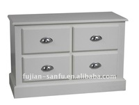 MDF 4-drawers night table