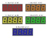 4 digits display