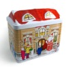 House shape tin