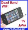 V706 Mini WIFI TV Phone Quad Band