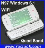 N97 Windows 6.1 WIFI Mobile Phone with Dual Camera and Java