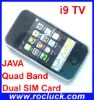 i9 TV Dual SIM TV Cellphone Quad Band with Analog TV and Camera