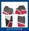 men's polyester panel beachwear