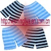 children's multicolor strip pants & shorts & knickers & scanties & garment & apparel & clothing & clothes